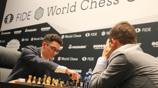 World Chess Championship Game 3: Caruana Repeats Rossolimo But Can't Break Carlsen