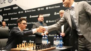 Campeonato del Mundo de Ajedrez R3   Carlsen y Caruana se mantienen firmes