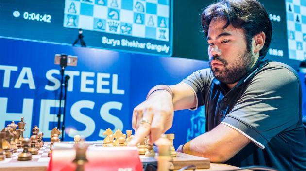 Tata Steel Chess India: Nakamura Holds Slim Lead At Blitz Half