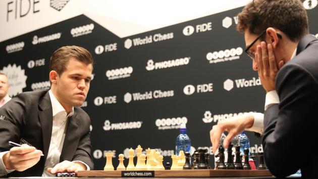 Schach-WM, Runde 4: Ein weiteres Remis und ein Video