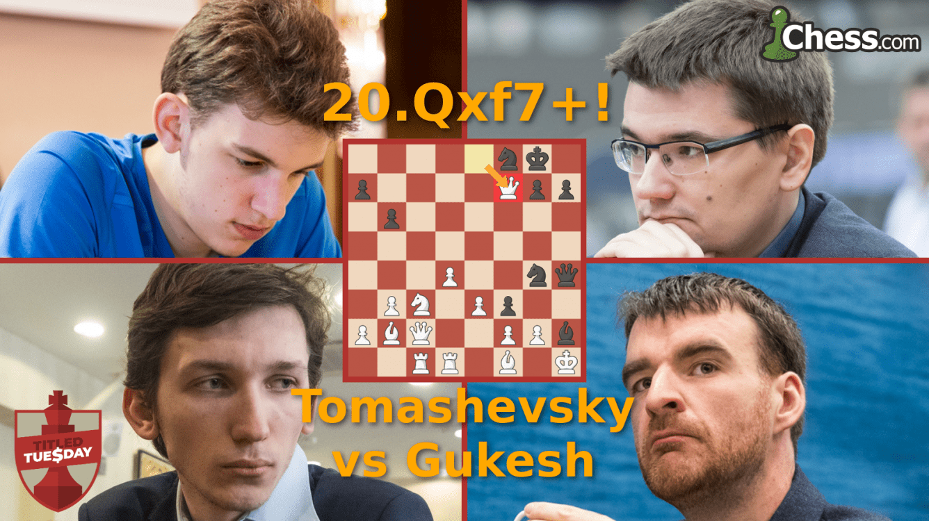 Tomashevsky, Oparin Win November Titled Tuesday