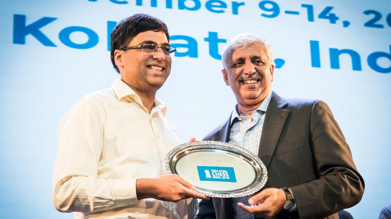 Anand Wins Tata Steel Chess India Blitz