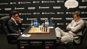 Schach-WM, Runde 5: Caruanas Überraschungsgambit reicht nicht aus, um der Remisfalle zu entkommen