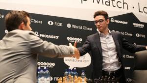 """Schach-WM, Runde 6: Caruana verpasst die """"Mission Impossible"""""""