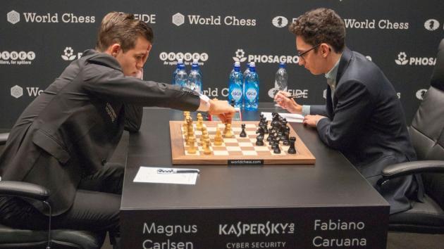 Mundial de Xadrez Partida 7: Outro Gambito de Dama, Outro Empate
