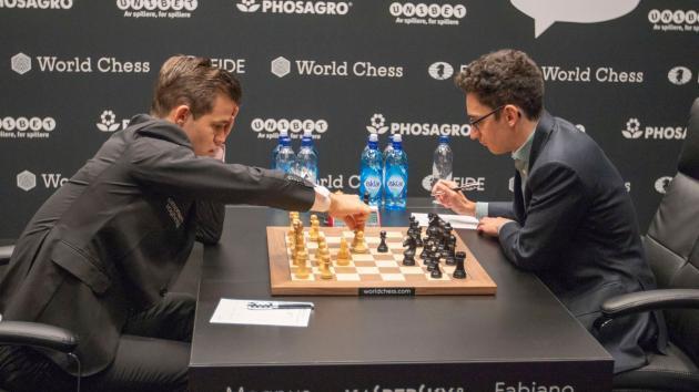 Schach-WM, Runde 7: Ein weiteres Damengambit und ein weiteres Remis