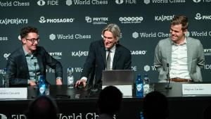 World Chess Championship Game 8: Carlsen Dodges Bullet In Sveshnikov Sicilian