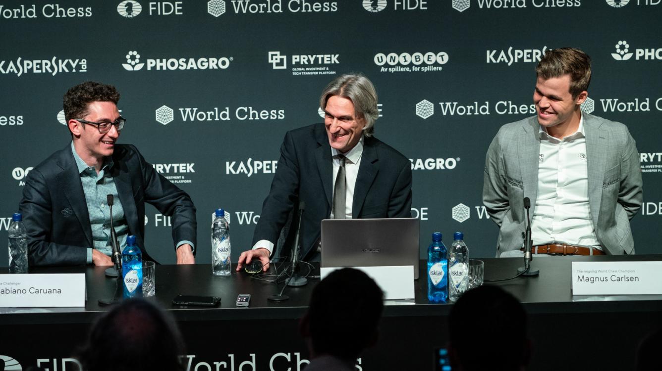 World Chess Championship Game 8: Carlsen Dodges Bullet In Sveshnikov Sicilian