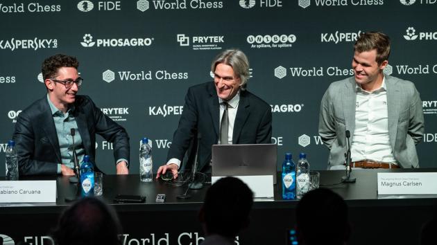 Championnat du monde, partie 8 : Carlsen évite les balles dans la Sveshnikov