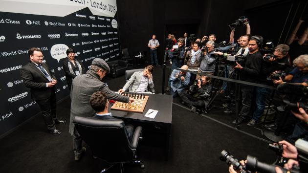 Schach-WM, Runde 10: Auch die wildeste Angriffspartie endet mit einem Remis