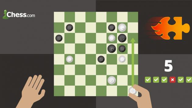 Sprint de problèmes : La nouvelle fonctionnalité Chess.com qui va vous rendre accroc !