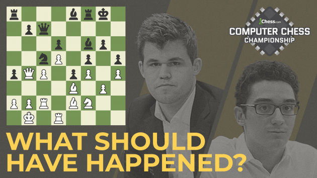 Computer Chess Championship To Play Out Caruana-Carlsen Game 12