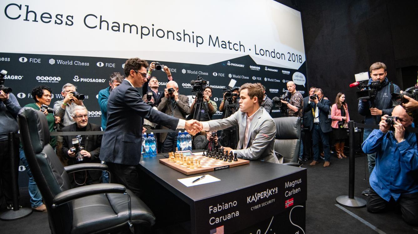 Dünya Satranç Şampiyonası 12. Oyun: Carlsen Eşitlik Bozmalara Ulaşmak İçin Daha İyi Bir Konumda Beraberlik Teklif Etti