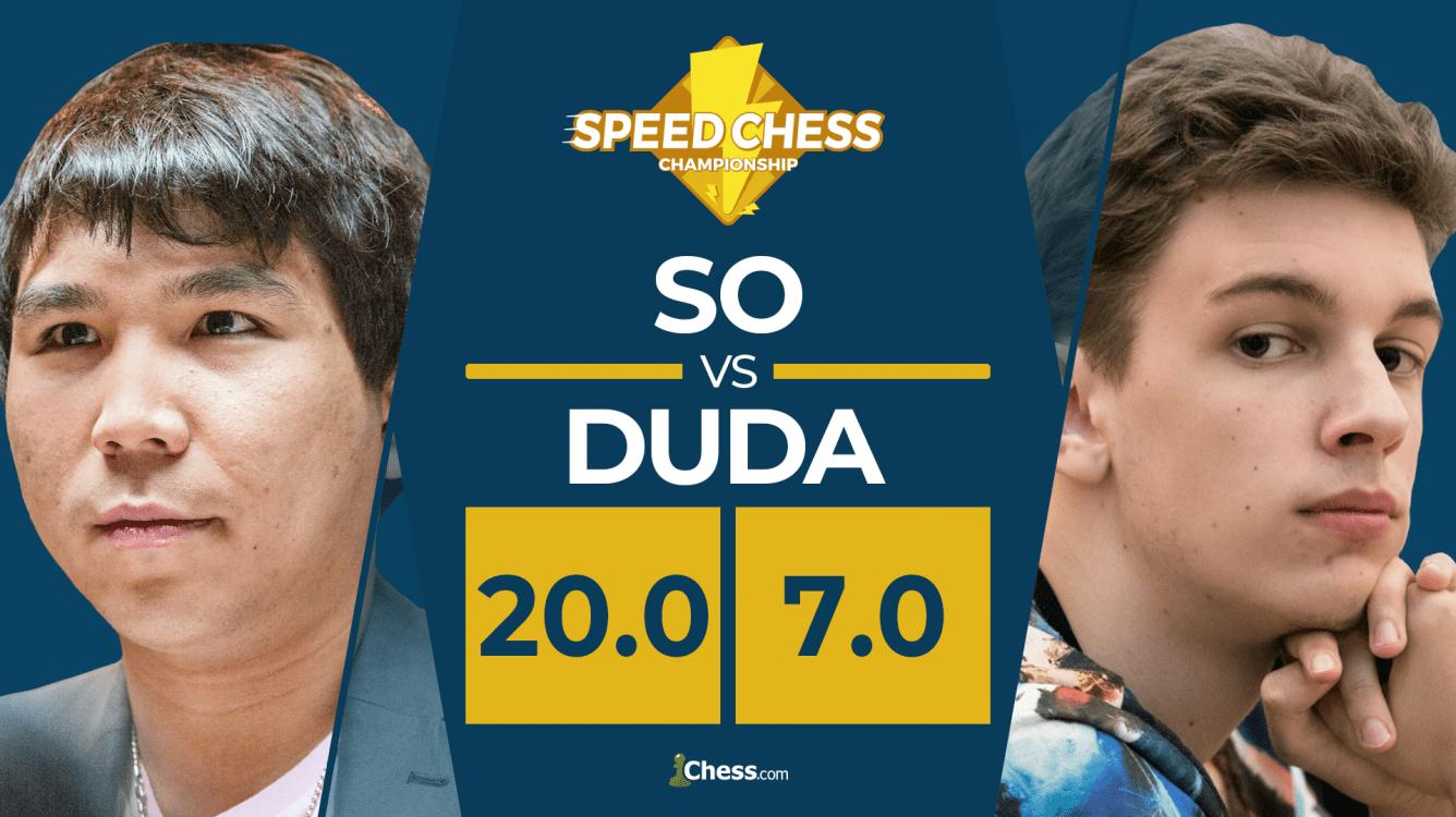 So Ends Duda Fairy Tale, Reaches Speed Chess Final