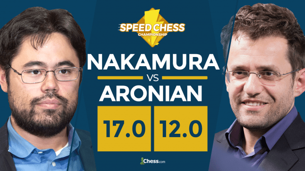 Nakamura Beats Aronian In Speed Chess, Loses In Bullet