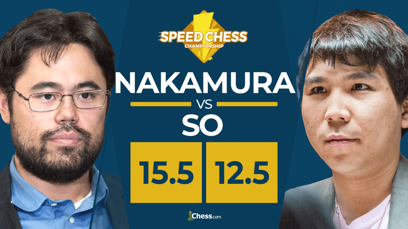 Nakamura Beats So In Bullet, Wins Speed Chess Championship