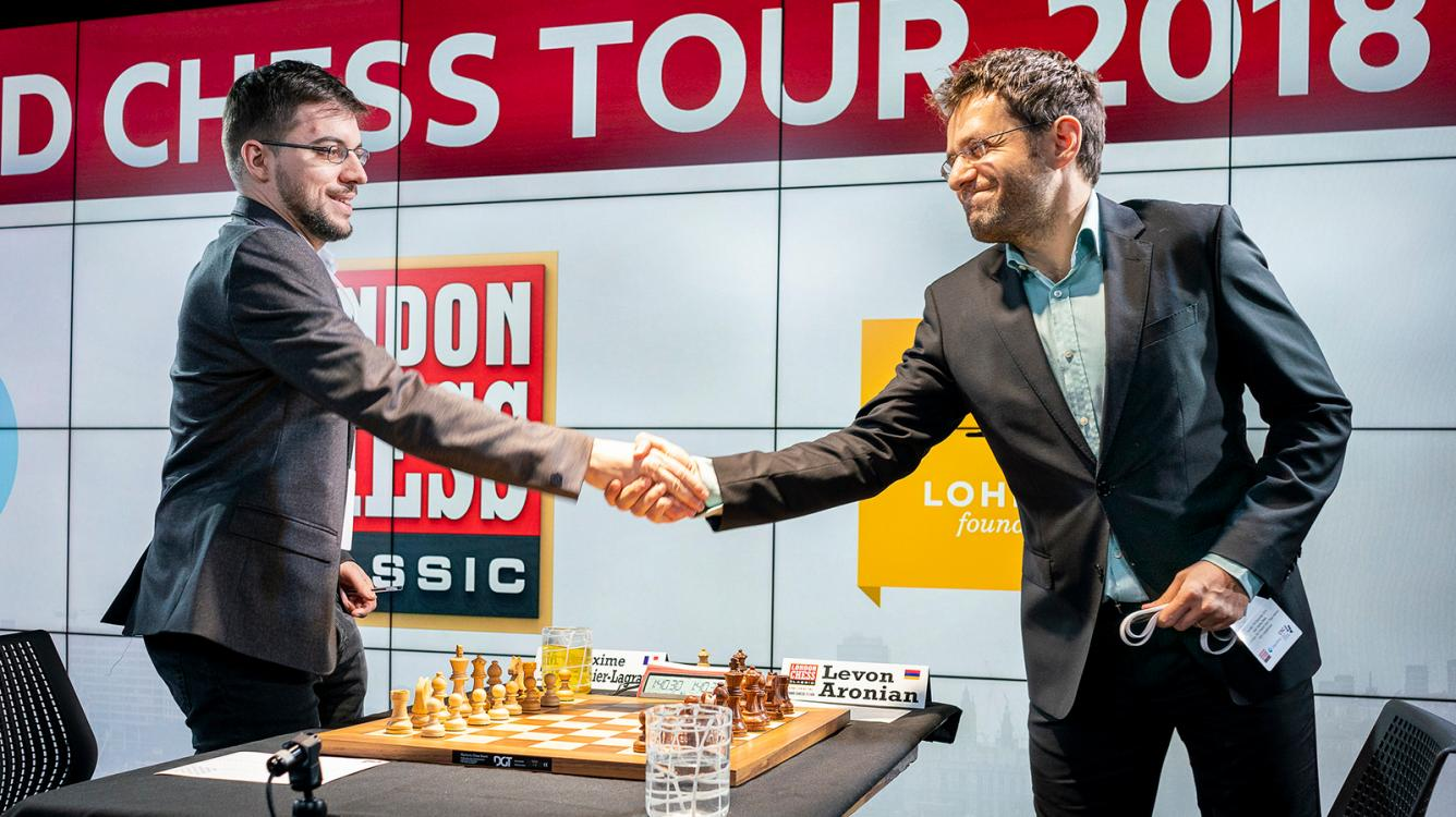 London Grand Chess Tour Takes Off With Fighting Draws