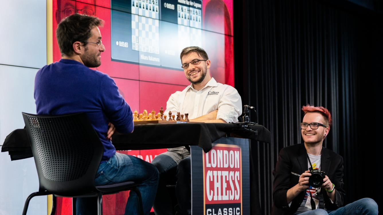 MVL, Nakamura To Play London Grand Chess Tour Final