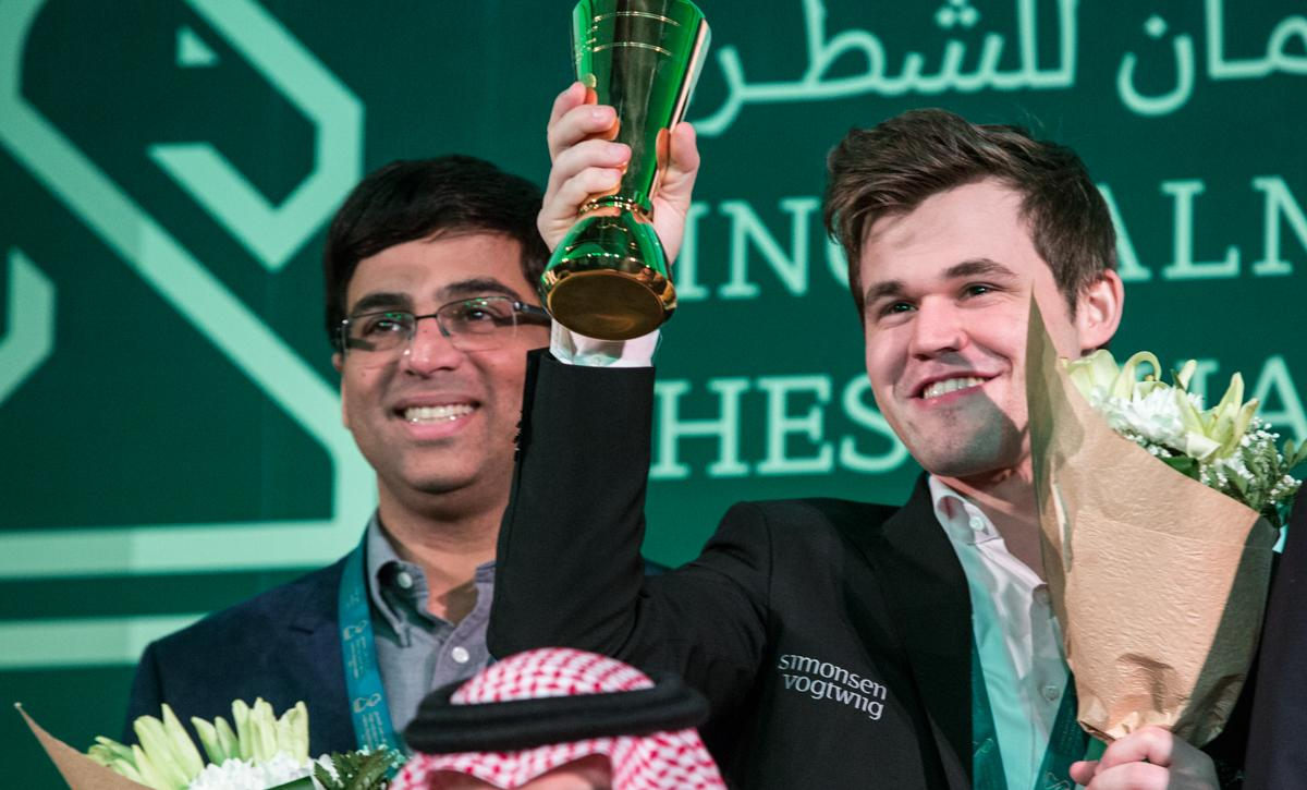 Carlsen, Anand To Defend Rapid, Blitz Titles In St. Petersburg