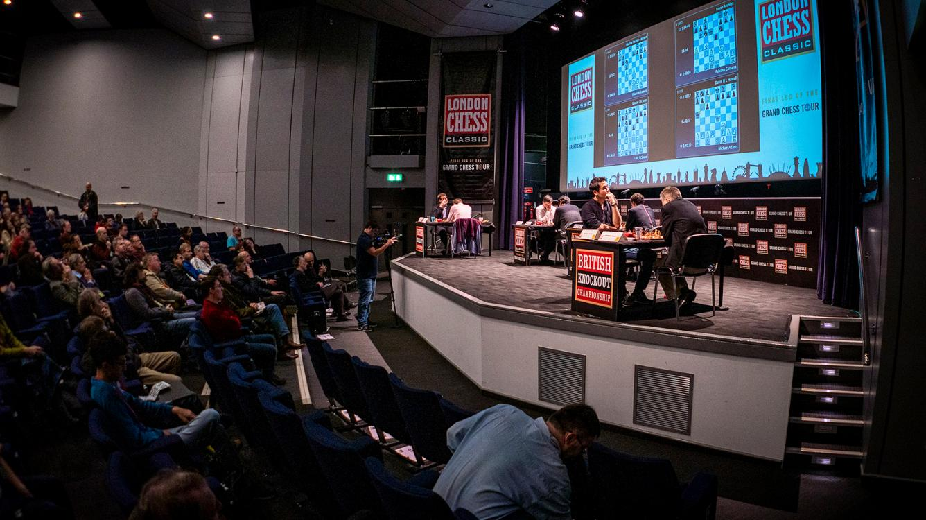 London Grand Chess Tour Finals Start With Draws