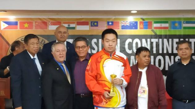 Wei Yi Wins Asian Continental Championship
