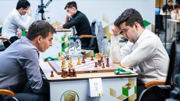 Андрейкин и Непомнящий лидируют на чемпионате мира по быстрым шахматам
