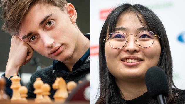 Даниил Дубов и Цзюй Вэньцзюнь становятся чемпионами мира по быстрым шахматам