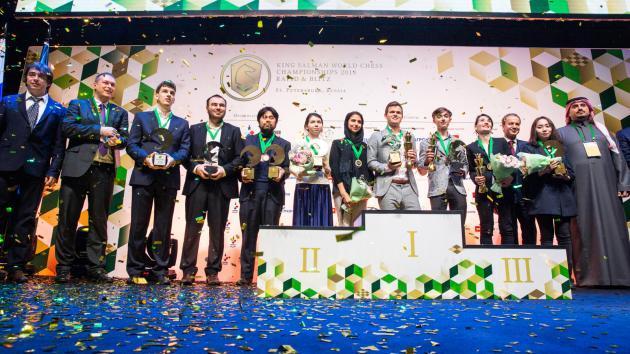 Магнус Карлсен и Катерина Лагно - чемпионы мира по блицу