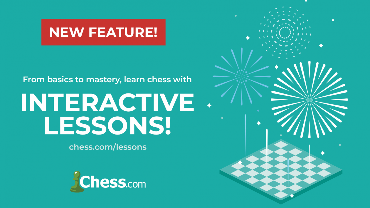 A New Year's Resolution: Improve Your Chess With New Lessons