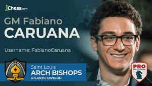 Caruana, So Lead Arch Bishops In PRO Chess Week 1