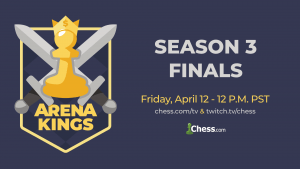 Arena Kings Finals Takes Center Stage This Friday