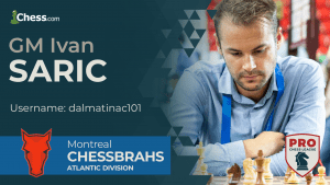 Saric Still Perfect In PRO Chess Week Two