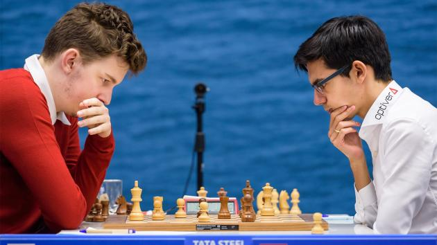 Carlsen, Giri Join Leaders At Tata Steel Chess
