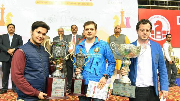 Delhi International Chess Festival: Pantsulaia Wins