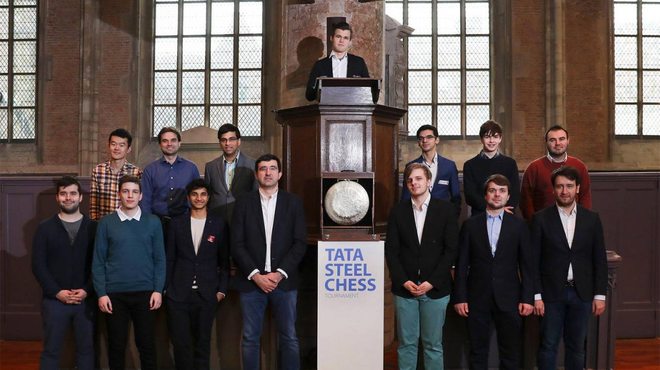 Carlsen Grinds Down Anand In Leiden, Leads Tata Steel Chess