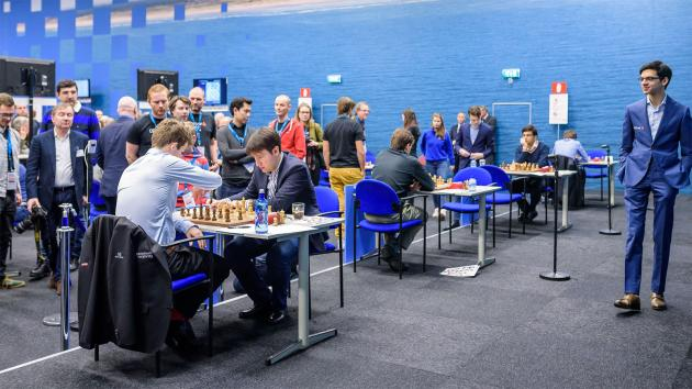 Tata Steel Chess: Giri, Carlsen Lead After Shankland Resigns In Drawn Position