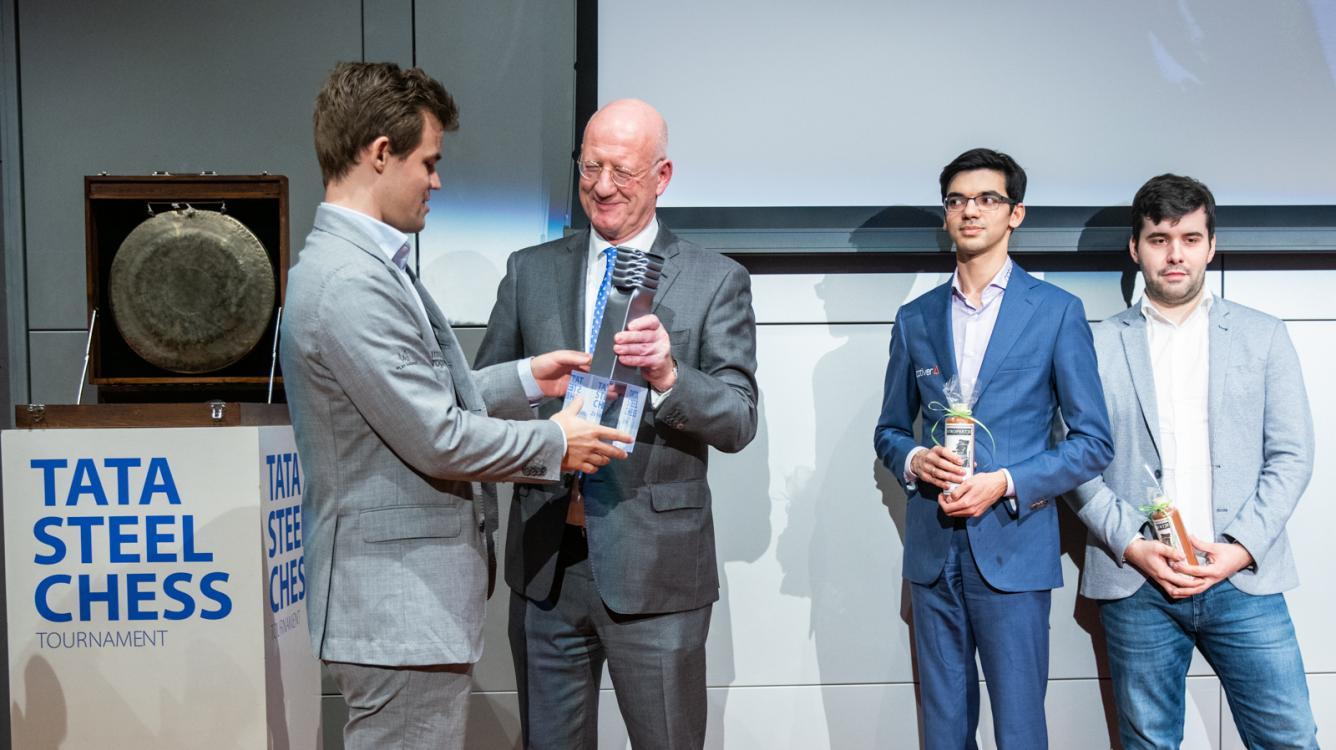 Carlsen Wins 81st Tata Steel Chess Tournament