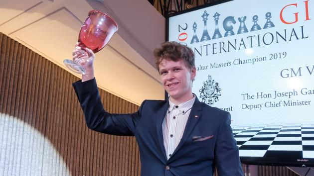 Artemiev Wins Clear 1st At Gibraltar Chess Festival