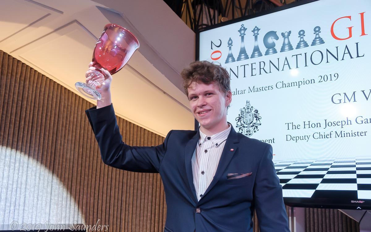 Владислав Артемьев - победитель фестиваля в Гибралтаре
