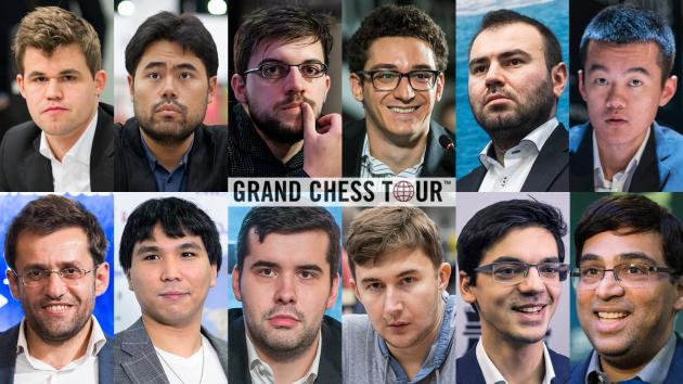 2019 Grand Chess Tour Participants Announced