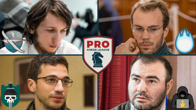PRO Chess League Sees Upsets, Comebacks, and Heartbreak in Week 6