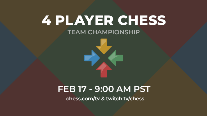 Watch The 4 Player Chess Championship Sunday