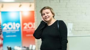 Валентина Гунина - обладательница первого Кубка Кэрнс