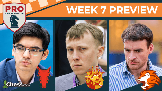 Giri, Ponomariov To Debut In PRO Chess League Week 7