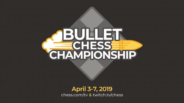 Chess.com gibt die Bullet-Schach Championship bekannt