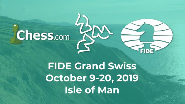 Das Isle of Man steigt zum FIDE Grand Swiss Turnier auf