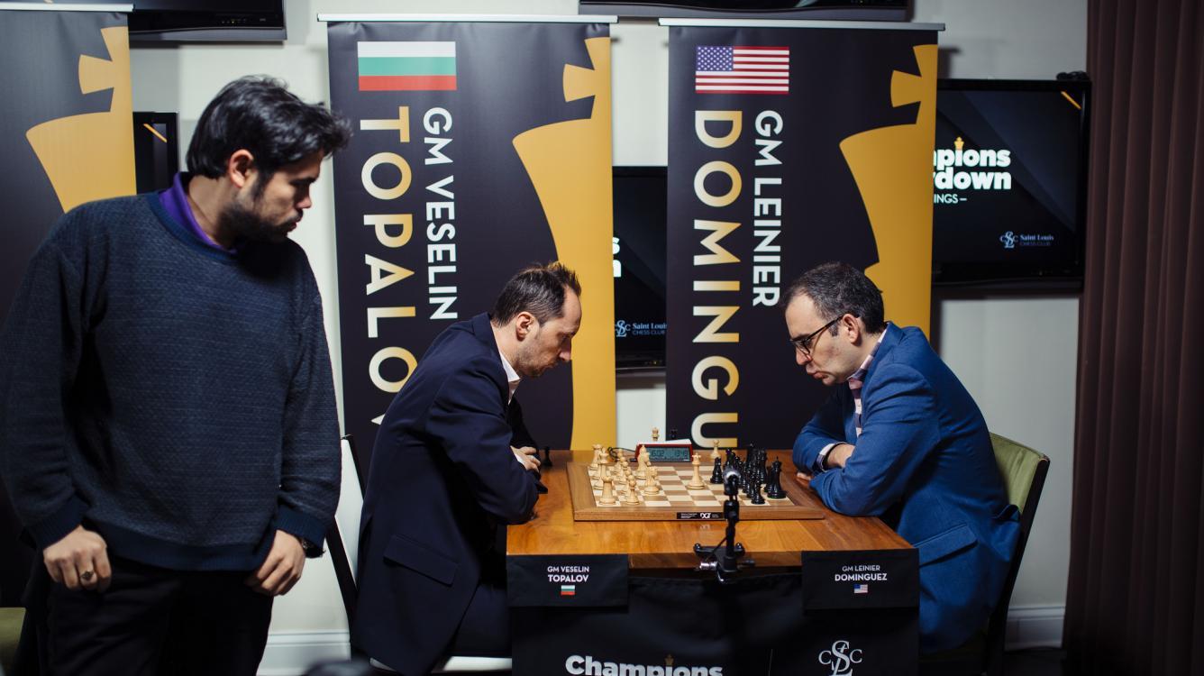 Topalov Joins Champions Showdown Leader Board