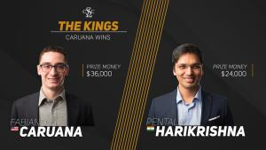 Caruana Wins Champions Showdown Match With Day To Spare
