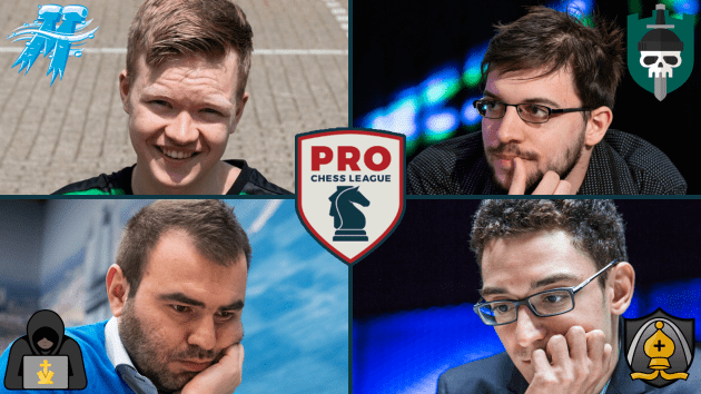 Plot Thickens As 2 Weeks Remain in PRO Chess League