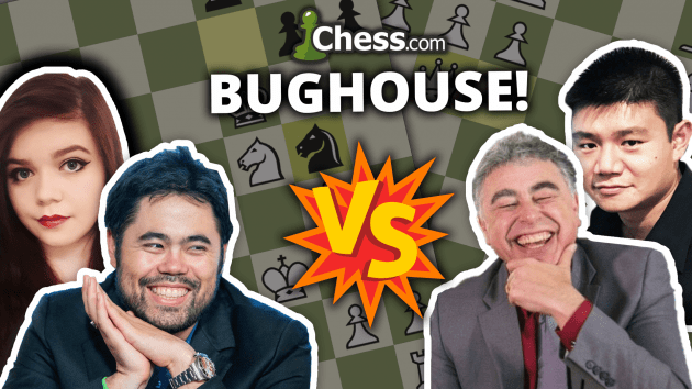 Nakamura, Seirawan To Play Bughouse Match Saturday